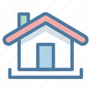 house, measurement, size icon