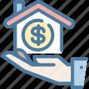 hand, home loan, mortgage, price