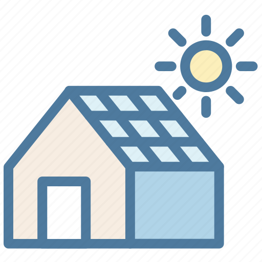 Eco, ecology, environment, house, panel, solar icon - Download on Iconfinder