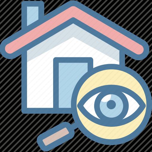 house, property, search, seo icon