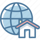 global, location, map, real estate