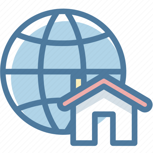 Global, location, map, real estate icon - Download on Iconfinder