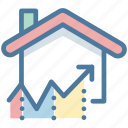 analytics, chart, growth, house, market, price, real estate