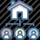 apartment, buildings, house, members, real estate