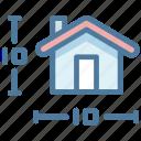 details, house, measurement, plan, size
