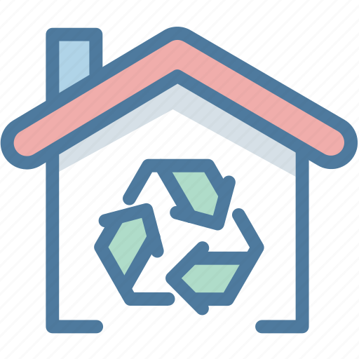 Ecology, home, home renovation, house, recycle, renovate, renovation icon - Download on Iconfinder