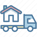 delivery, home, moving, relocation, transport, transportation, truck