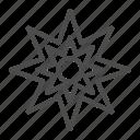 star, abstract, shape, creative, form, six, peak