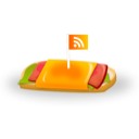 feed, rss, sandwich icon