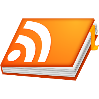book, feed, notebook, rss, rss book icon