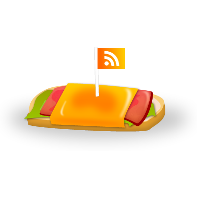 feed, rss, sandwich icon