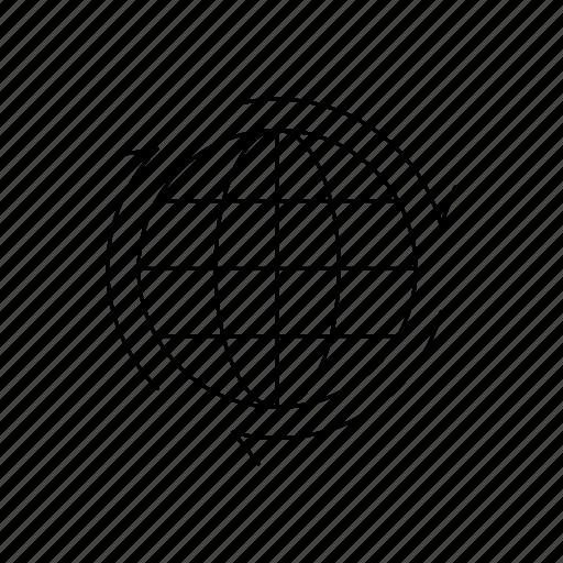 earth, global, globe, network, planet, world icon