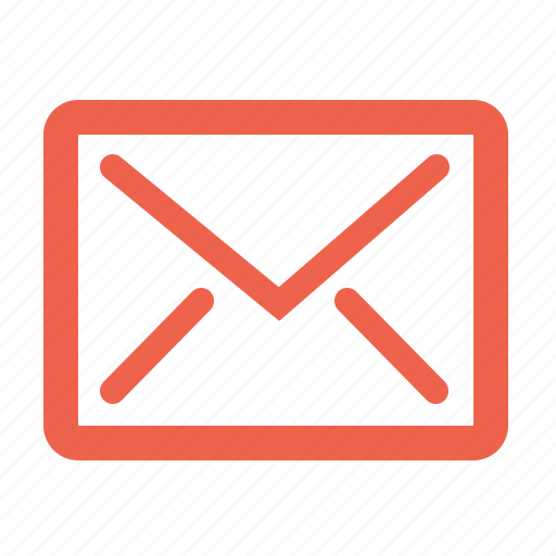 attachment, correspondence, email, envelope icon