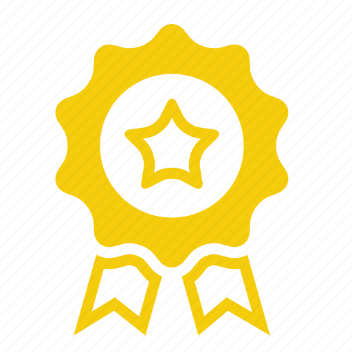 achievement, award, best quality, certified icon