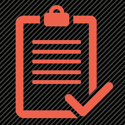 audit, checklist, complete, tracklist icon