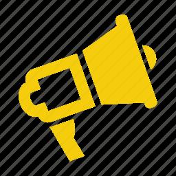 ads, advertising, audio, bullhorn, business, comunication, connection, entertainment, feed, horn, internet, loud, loudspeaker, marketing, media, megaphone, multimedia, online advertising, promotion, rss, social, sound, speaker, speech, talk, viral, volume icon