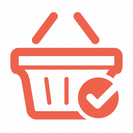 bag, basket, buy, buying, cart, check out, checkout, commerce, completed, e-commerce, ecommerce, finance, full, internet, marketing, money, online, order, package, purchase, sale, sell, seo, shipping, shop, shopping, stock, store, successful, supermarket, verify, web, webshop icon