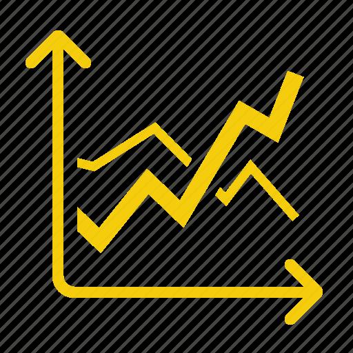 analytics, chart, diagramm, report, statistics icon