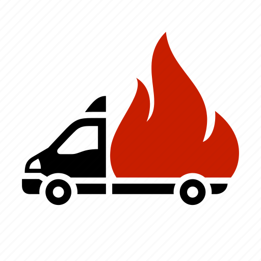 dilivery track, fire, flame, hot discounts, transport icon