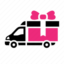 box, dilivery track, free, gift, present, transport icon