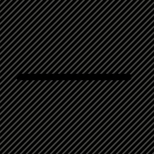 Minus, remove, delete, cancel, close, garbage, exit icon - Download on Iconfinder