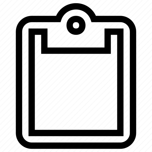 clipboard, content, list, notes, paste, tasks icon