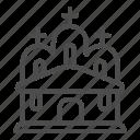 cross, building, church, architecture, chapel, faith, house