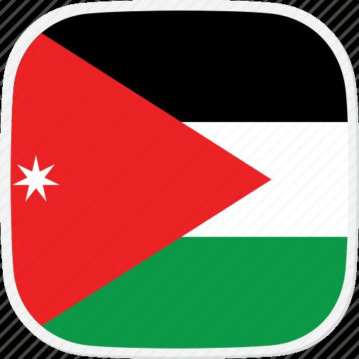 flag, jo, jordan icon