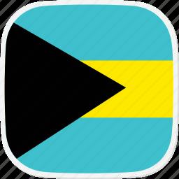 bahamas, bs, flag, the icon