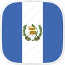 flag, gt, guatemala icon