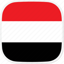 flag, ye, yemen icon