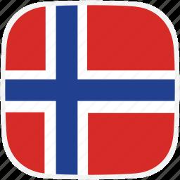 flag, no, norway icon
