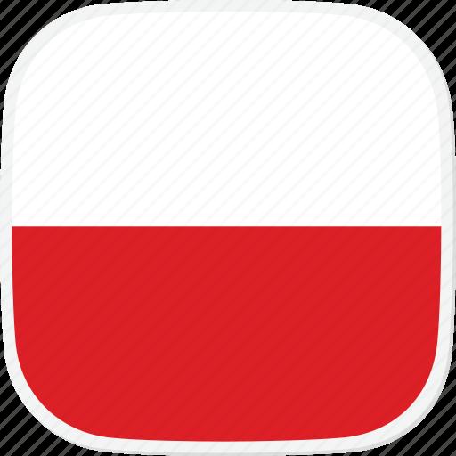 flag, pl, poland icon