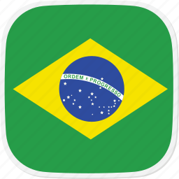 br, brazil, flag icon