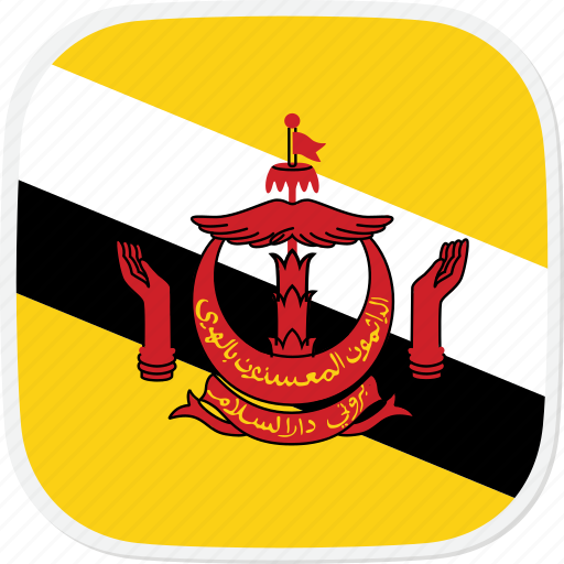 Brunei, bn, flag icon - Download on Iconfinder