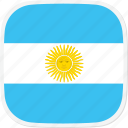 ar, argentina, flag icon