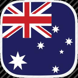 au, australia, flag icon