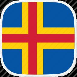 aland, ax, flag icon