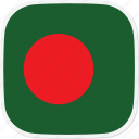 bangladesh, bd, flag icon