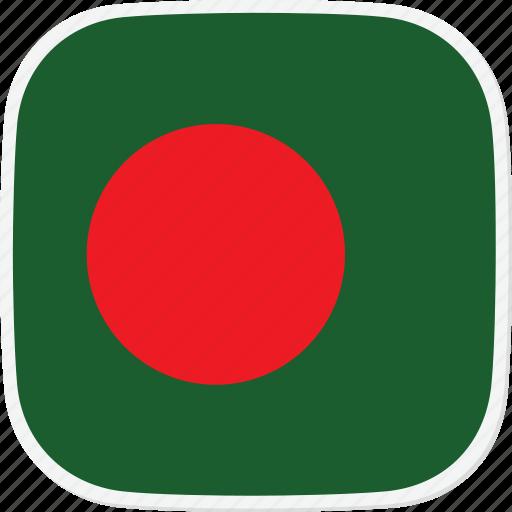 bangladesh, bd, flag icon