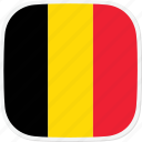 be, belgium, flag icon