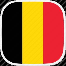 be, belgium, flag icon