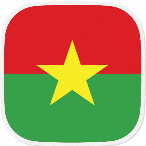 bf, burkina, faso, flag icon