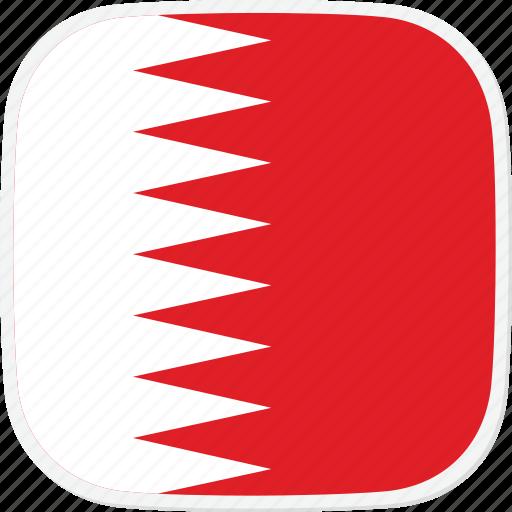bahrain, bh, flag icon