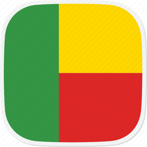 benin, bj, flag icon