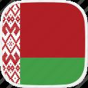 flag, belarus, by