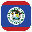 belize, bz, flag icon