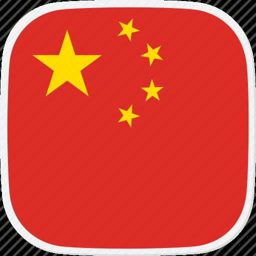 Flag, china, cn icon - Download on Iconfinder on Iconfinder