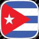 cu, cuba, flag icon