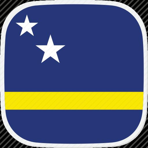 curacao, cw, flag icon